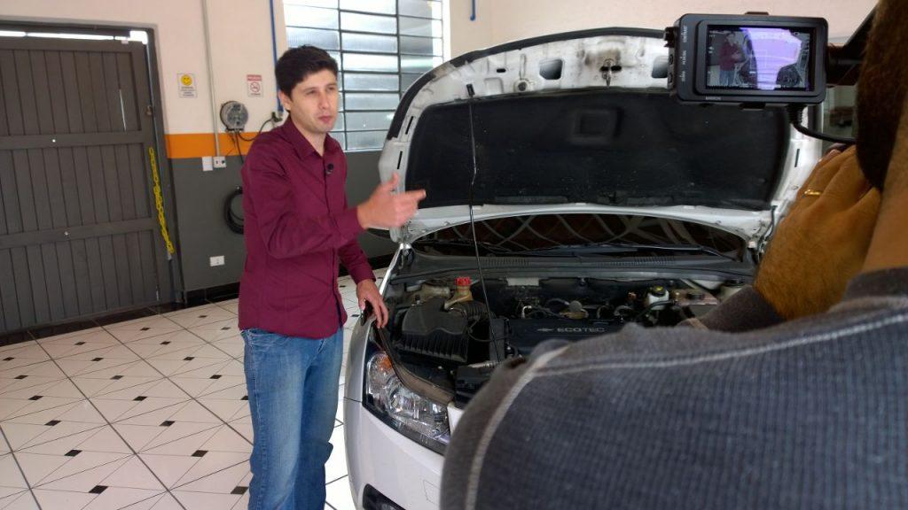 Felipe Carvalho participa do AutoEsporte