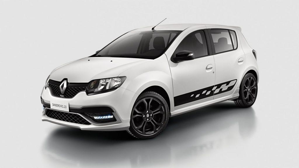 Renault Sandero versão RS